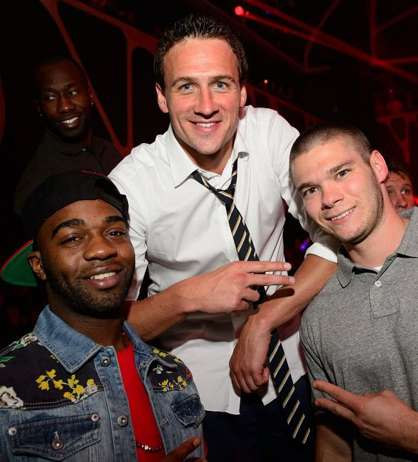 Star-Studded Evening Brings Kellan Lutz, Henry Cavill and Ryan Lochte to Hakkasan Nightclub