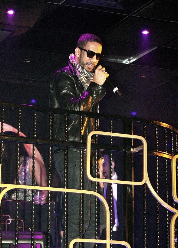 Ryan Leslie performs at The Bank Nightclub
