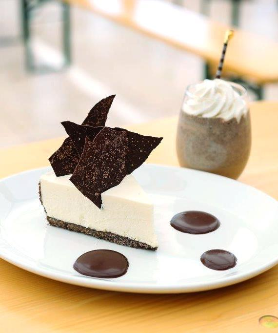 S+O Thin Mint cheesecake