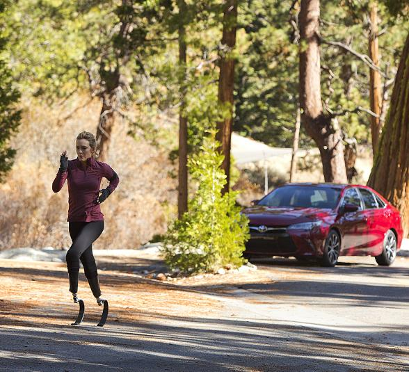 Paralympic Medalist Amy Purdy and Muhammad Ali Bring Voice to 'One Bold Choice' Toyota Camry Campaign