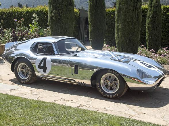 """Secret Weapon"" Shelby Cobra Daytona Coupe to Return in Limited Production Series"