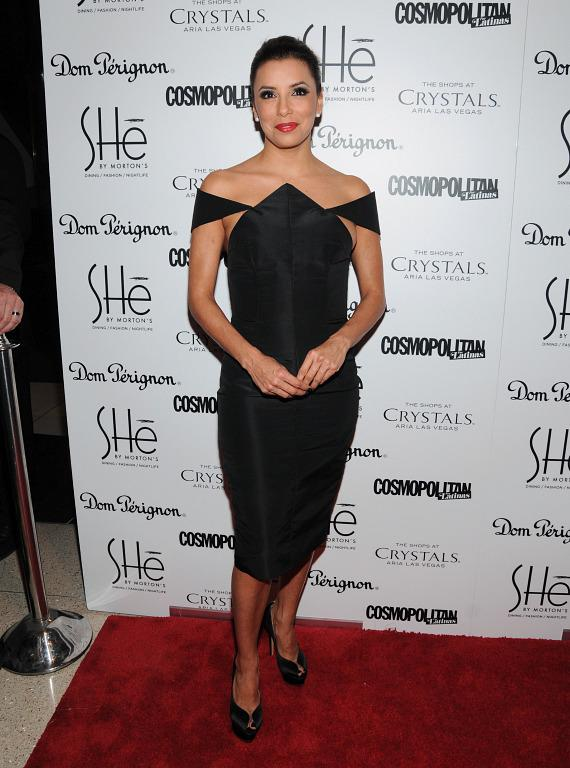 Eva Longoria on red carpet at SHe