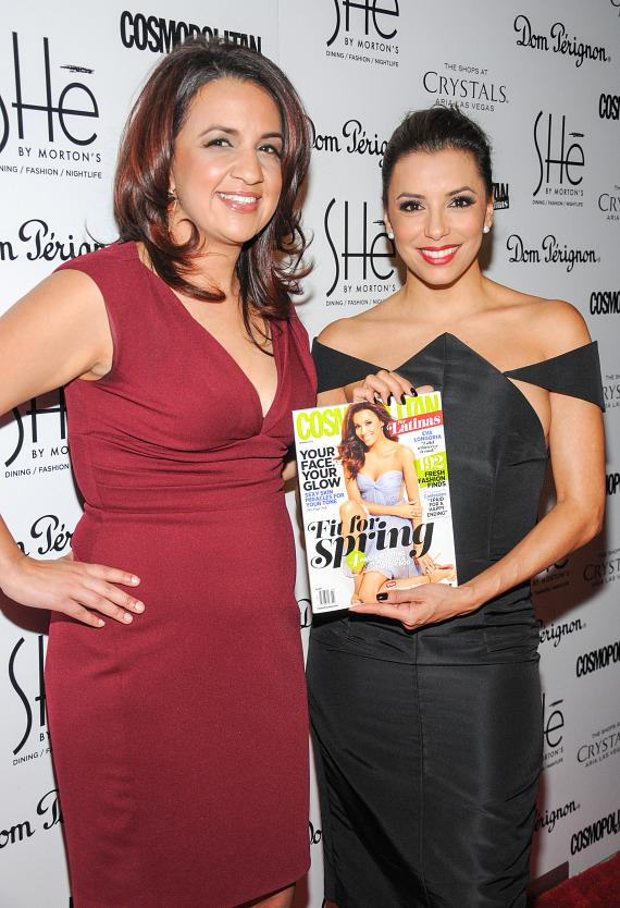 Michelle Mulligan and Eva Longoria at SHe