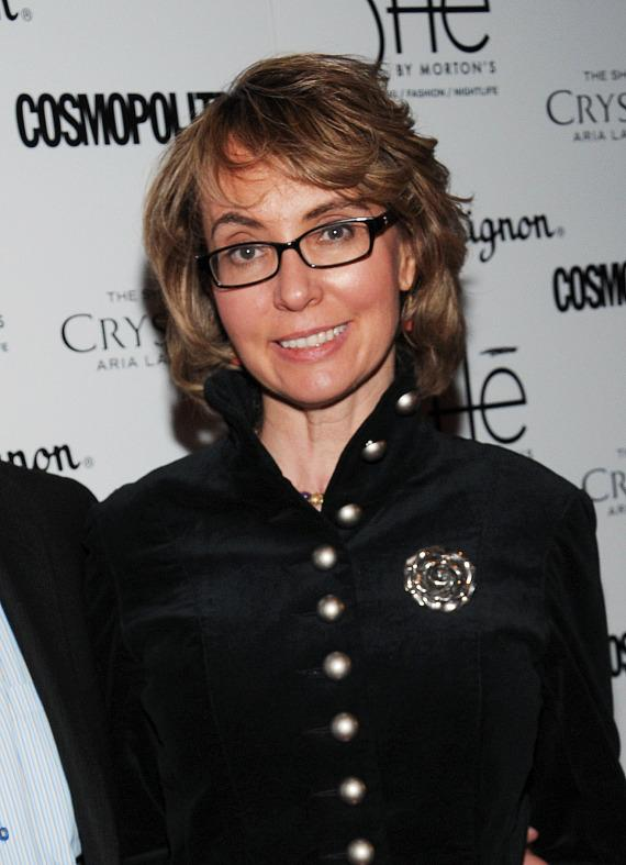 "Former Congresswoman Gabrielle ""Gabby"" Giffords on red carpet at SHe"