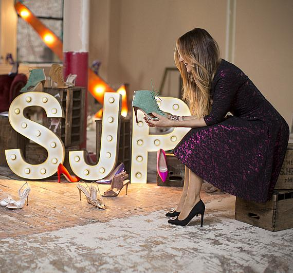Sarah Jessica Parker with the SJP Collection