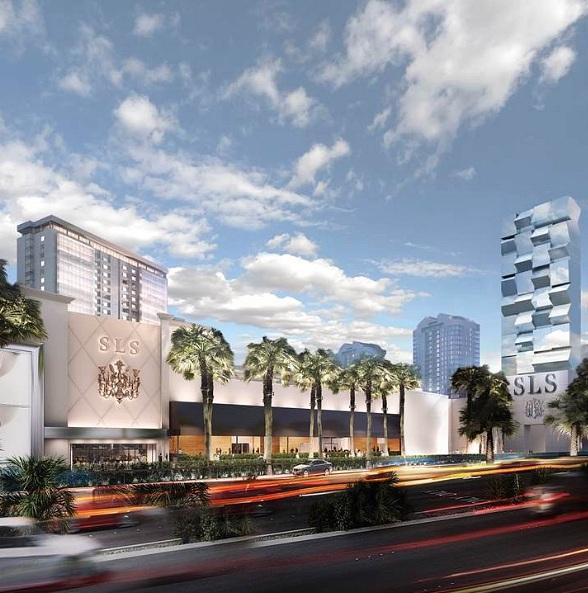 SLS Las Vegas to Open Labor Day Weekend on Las Vegas Strip
