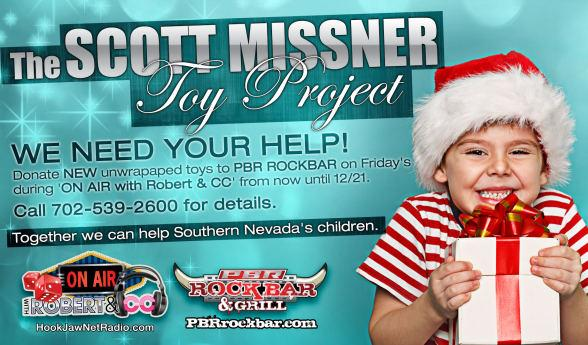 Hook Jaw Net Radio's 'The Scott Missner Toy Project'