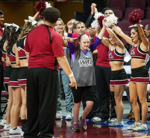 Special Olympics Unified Basketball at WAC Championship Game