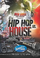 Hip Hop vs House Sapphire Pool DJ Contest Sunday, June 28