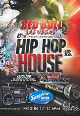"Sapphire Pool & Dayclub to host 2nd Round of ""Hip Hop vs. House"" Saturday July 18"