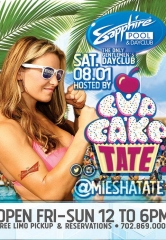 Miesha Tate to host UFC 190 Pool Party at Sapphire Dayclub Las Vegas Saturday, August 1