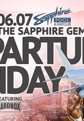 The Sapphire Gems and HardNox to host Departure Sunday at Sapphire Pool & Dayclub on June 7