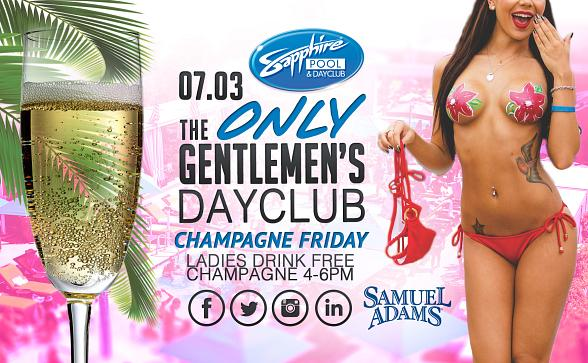 "Dennis Rodman's ""Big Bang"" and Champagne Friday at Sapphire Pool & Dayclub Friday, July 3"