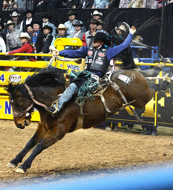 Wrangler NFR Wraps up at the Thomas & Mack Center in Las Vegas