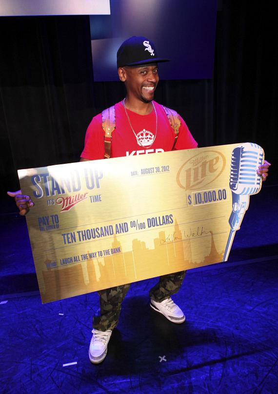 Lavar Walker of New Orleans was the grand prize winner and received $10,000