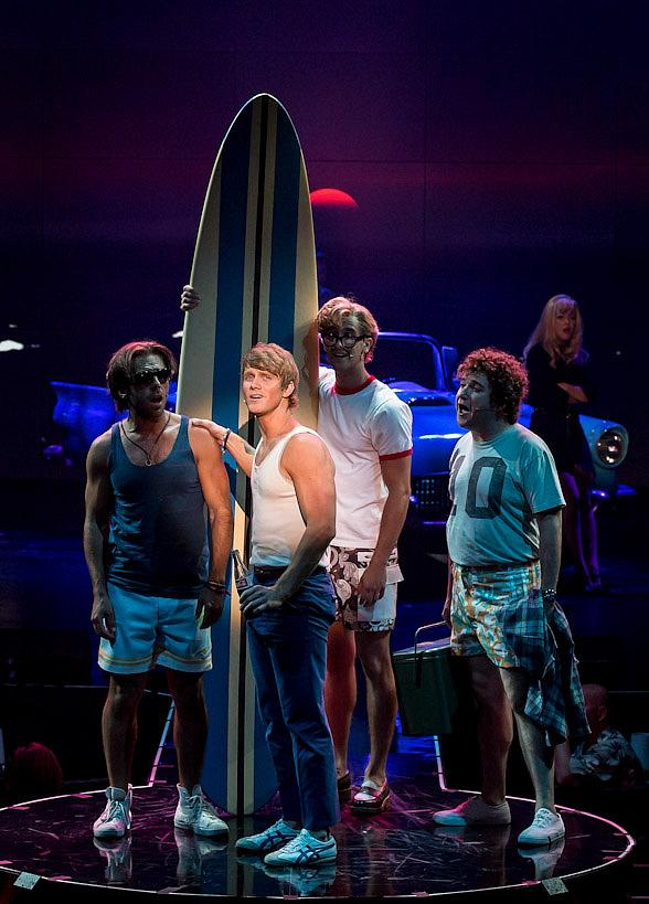 Surf the Musical Opens at Planet Hollywood Resort &amp; Casino  