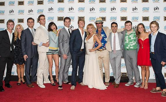 Cast of Surf the Musical with Guests