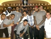 Sacramento Kings Dine at Crush Eat, Drink, Love