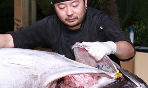 UNLVino's Sake Fever Heats Up with Chefs Mei Lin and Katsuji Tanabe on Friday, April 17