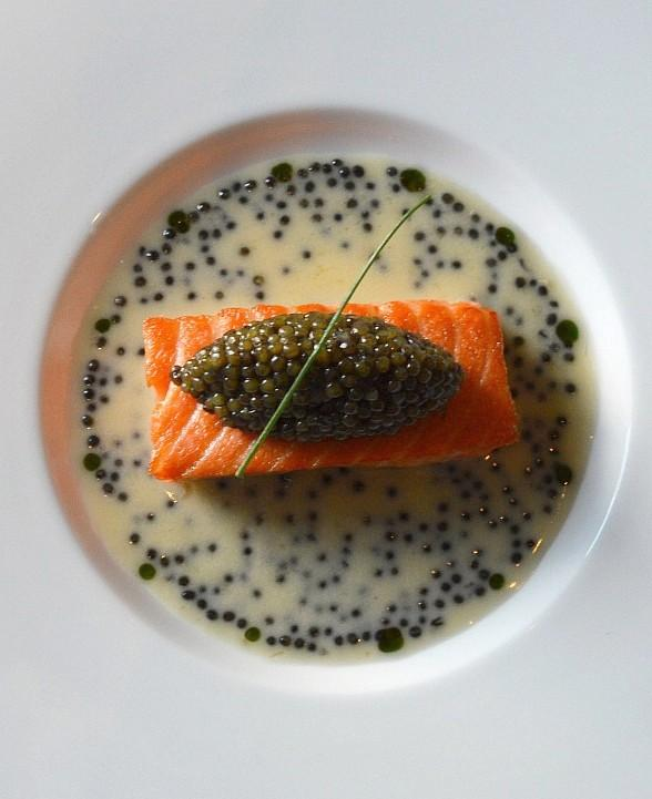 Restaurant Guy Savoy at Caesars Palace Debuts All-New Caviar Room