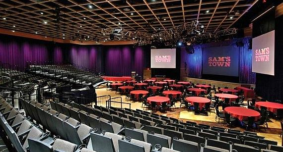 The Sam's Town Live showroom at Sam's Town Hotel & Casino