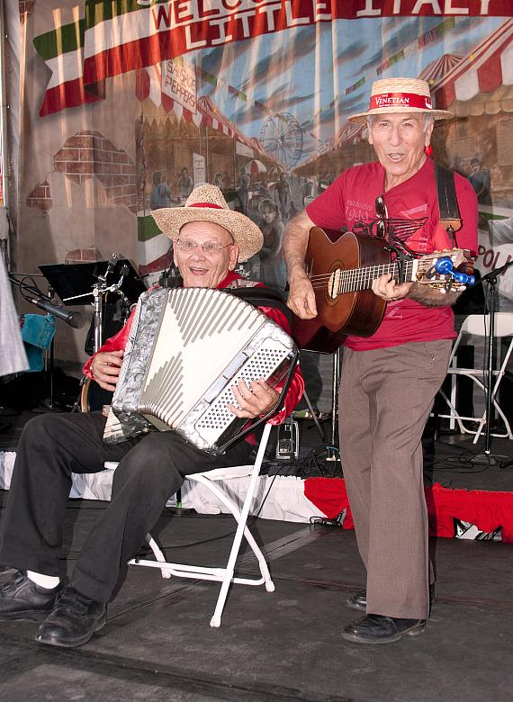 San Gennaro Feast entertainers