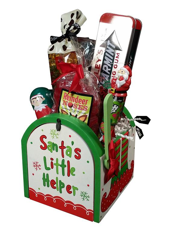 Santa's Little Helper Gift Basket