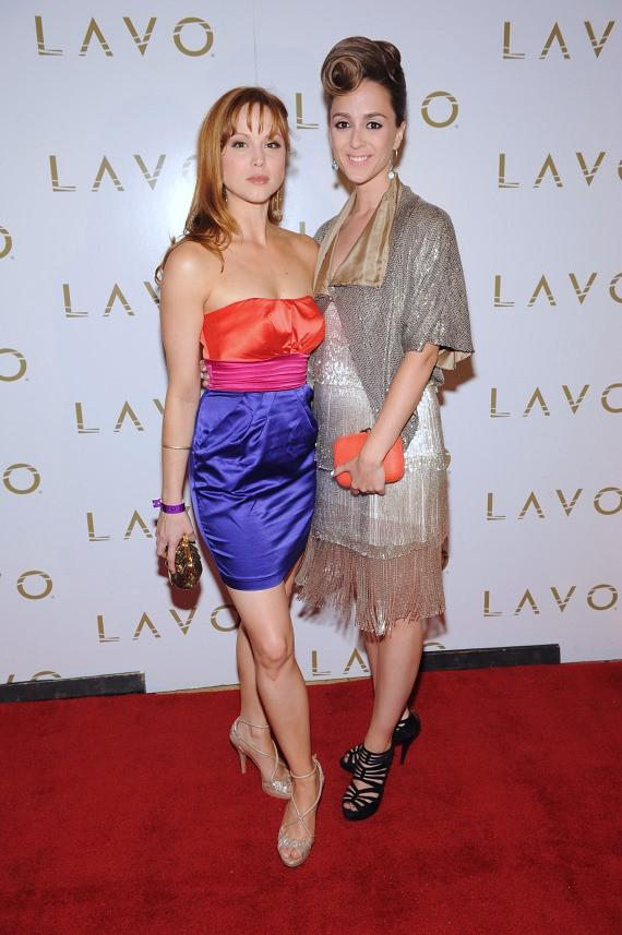 Sarah Glendening and  Christina Lind at LAVO