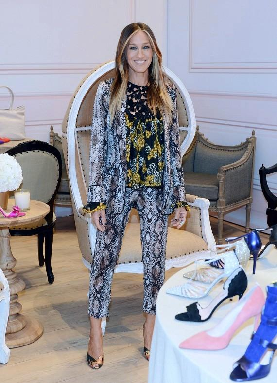 Sarah Jessica Parker Debuts The Strip Collection at The Shops at Crystals