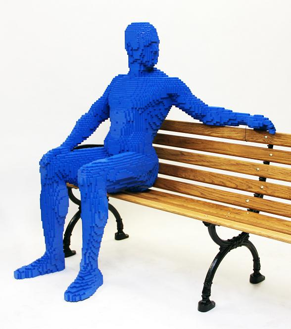 The Park to Showcase One-of-a-Kind, Life-Size LEGO Brick Sculptures