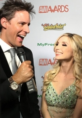 Paul Scally Hosts Red Carpet at AVN Awards Las Vegas