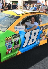Paul Scally spotted at the NASCAR Kobalt 400 this weekend at Las Vegas Motor Speedway
