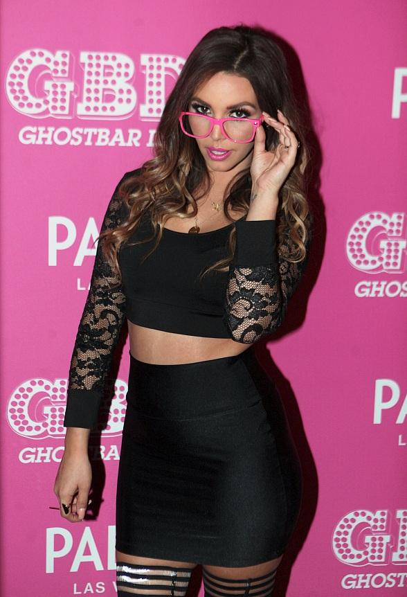 """Vanderpump Rules"" star Scheana Marie goes Nerdy-Chic at Ghostbar Dayclub's ""Geek'd Up"" Bash"