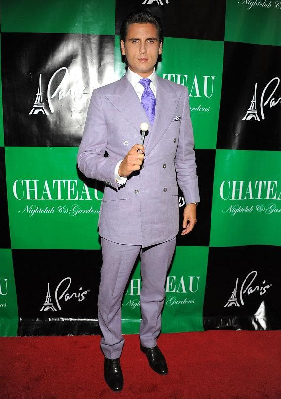 Scott Disick at Chateau Nightclub