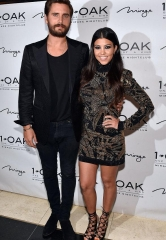 Scott Disick Celebrates his Birthday at 1 OAK with Kourtney Kardashian