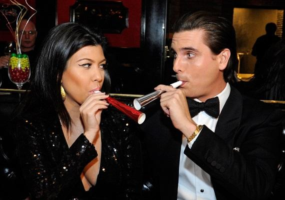 Disick and Kardashian having New Year's Eve fun at Sugar Factory American Brasserie