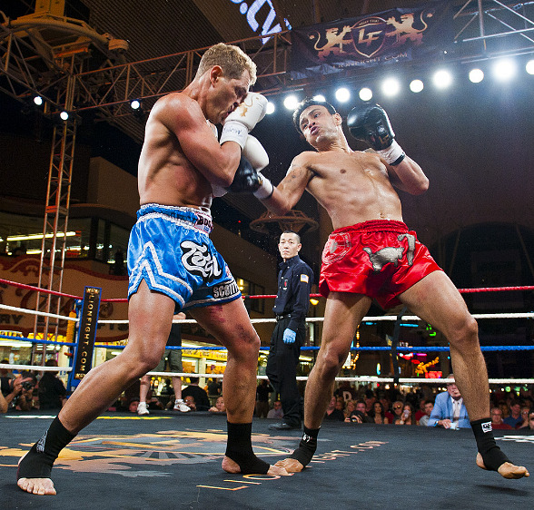 Lion Fight 11 Features Muay Thai Kickboxing at Fremont Street Experience