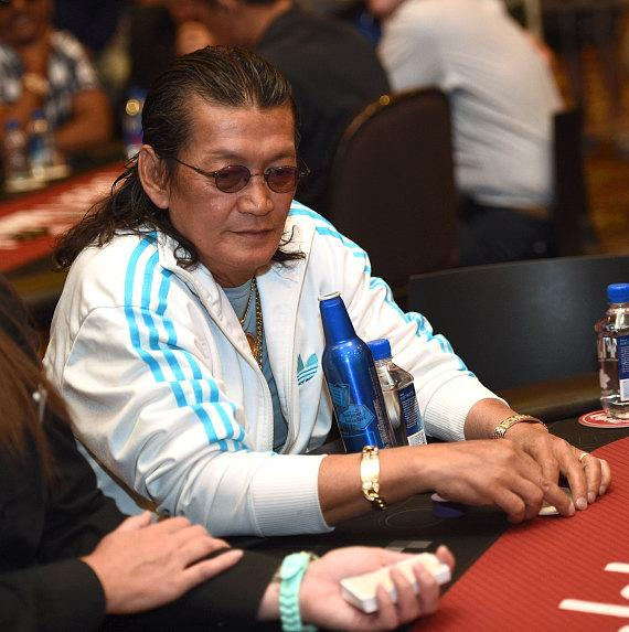 Scotty Nguyen at Tiger's Poker Night