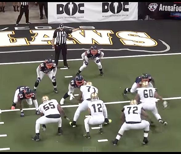 Las Vegas Outlaws Become First Pro Football Team to Fly a Drone Camera During a Live Game