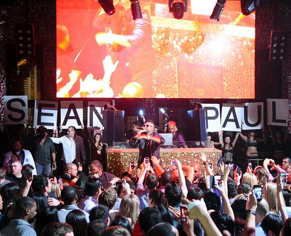 Sean Paul Performance at TAO