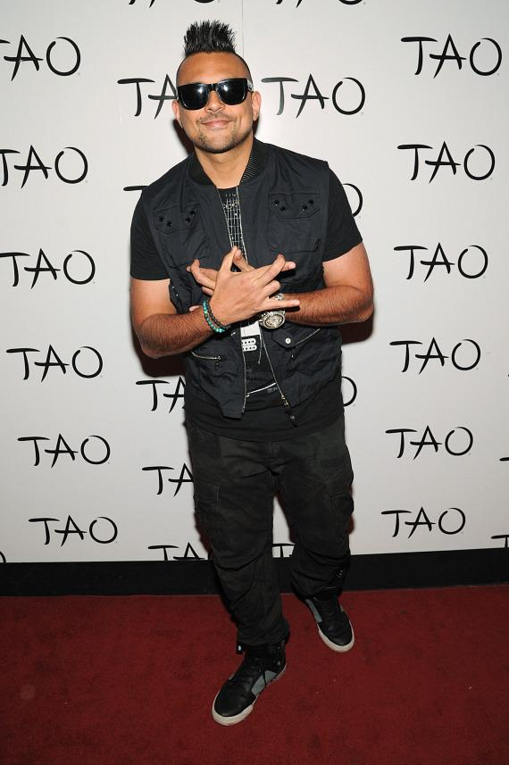 Sean Paul on TAO Red Carpet