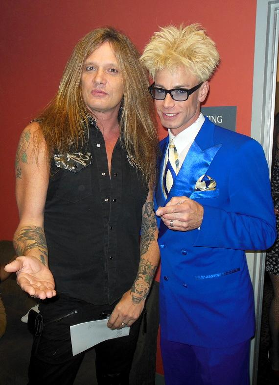 Sebastian Bach and Murray SawChuck