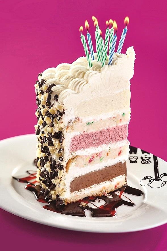 Party Like It's Your Birthday ice cream layered cake