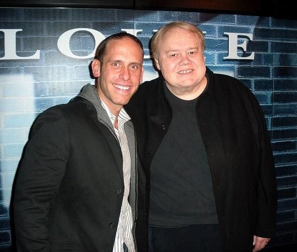 Seth Gold of Hardcore Pawn Attends Louie Anderson's Show