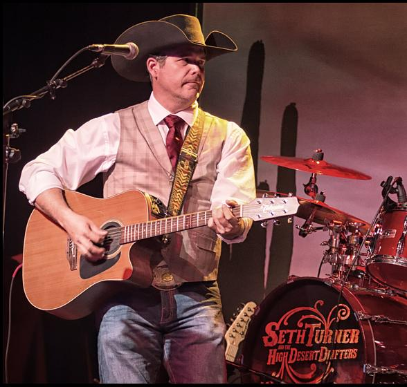 Seth Turner and The High Desert Drifters will perform at The Hillbilly Ball