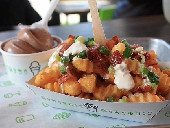 When Irish Fries are Smiling at Shake Shack...St. Patrick's Day just got a million times better...