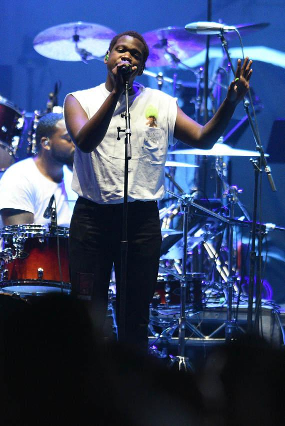 Shamir Performs at T-Mobile Arena Grand Opening