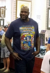"Shaquille O'Neal visits the World Famous Gold &  Silver Pawn Shop (""Pawn Stars"")"