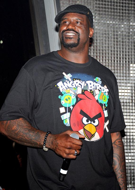 Shaq at Moon Nightclub