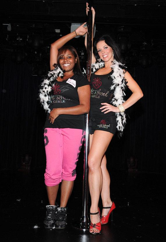 Shar Jackson with FANTASY dancer Tracey